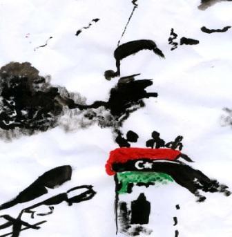 من رسم مرح المصراتي