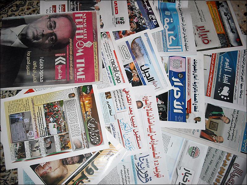 الصحافة كفضاء عمومي للمبدعين