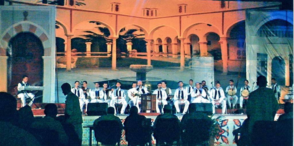 مهرجان المالوف والموشحات، بمدينة طرابلس.