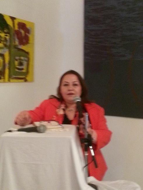 الروائية رزان المغربي
