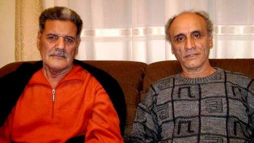 مع السيد محمد يونس المسمارى بمنزله بنغازى 2010
