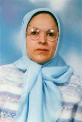 الكاتبة شريفة القيادي.