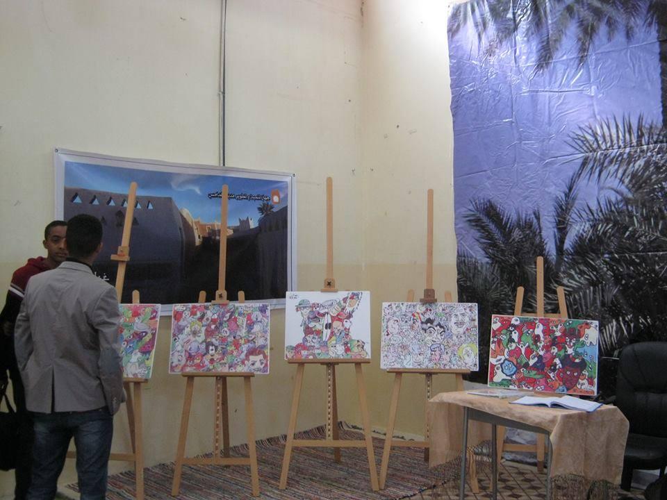 الملتقى السابع للاطفال المبدعين بغدامس