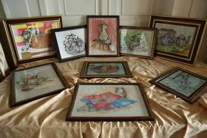 المعرض الوطني الأول للمرأة للفنون التشكيلية