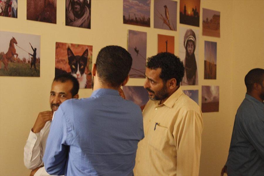 المعرض الأول لجمعية وادي الشاطئ للتصوير الفوتوغرافي