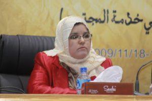 الكاتبة حنان الهوني