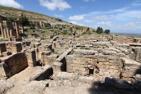 مدينة شحات الأثرية.