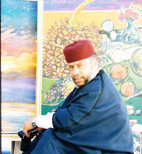 التشكيلي الراحل الطاهر الأمين المغربي.