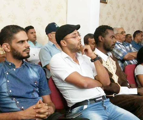 الشعراء: هود الأماني، أكرم اليسير، محمد عبدالله.