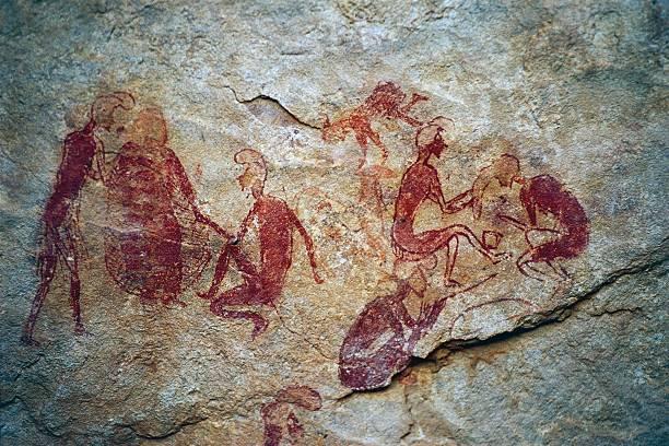 الفن الصخري في ليبيا.