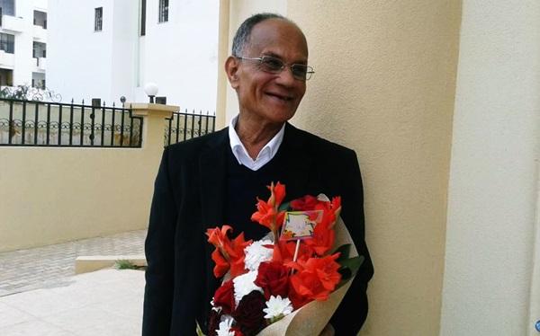 تكريم القاص محمد المسلاتي.