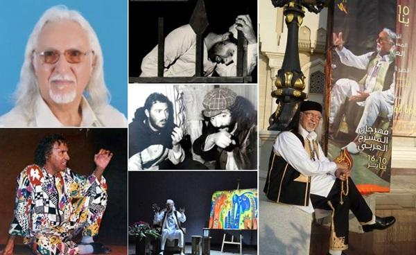 مجموعة صور للفنان يوسف خشيم.