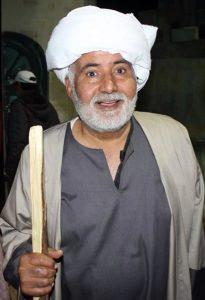 الفنان المسرحي عبدالله الشاوش.