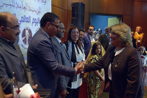 الاحتفال باليوم العالمي للمسرح في بنغازي.