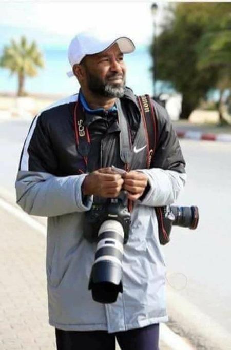 المصور الفوتوغرافي خالد سلامة.