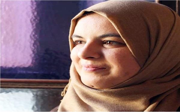 الشاعرة فريال الدالي.