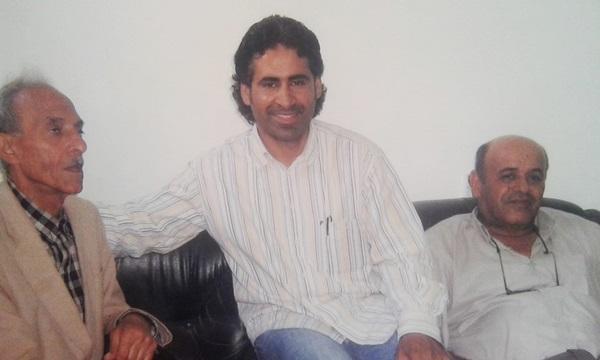 الشاعر أحمد بللو، الشاعر مهدي التمامي، الكاتب يوسف القويري.