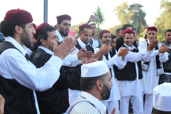 مهرجان الأغنية الشعبية في بنغازي. الصورة: صفحة المهرجان.