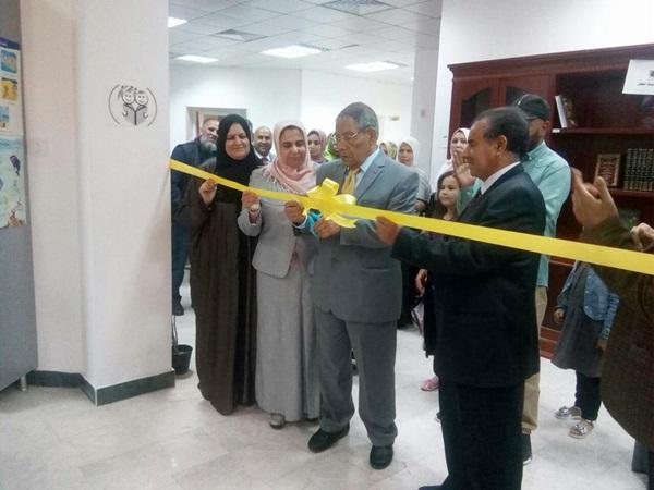 افتتاح مكتبة الطفل بالزاوية.