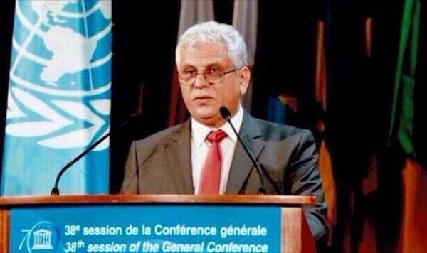مندوب ليبيا لدى اليونسكو عبدالقادر المالح.