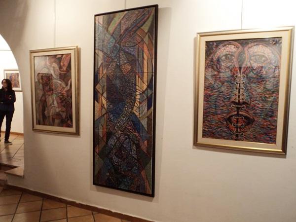 معرض الفنان التشكيلي بشير حمودة.