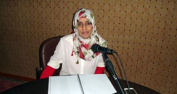 الشاعرة منى الزيداني.