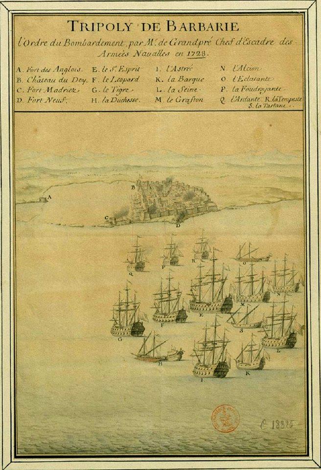 هجوم الأسطول الفرنسي.