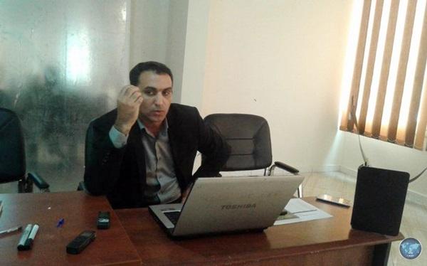 الشاعر صالح قادربوه بمركز وهبي البوري.