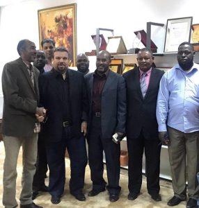 وفد من بلدية غات يزور الهيئة العامة للثقافة.