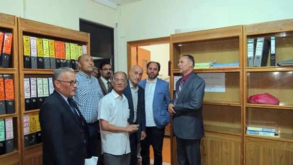 جولة السيد جمعة الفاخري رئيسة الهيئة العامة للإعلام والثقافة.