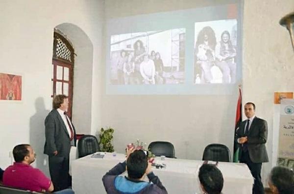 محاضرة عن يوسبريدس وبرينكي في بنغازي