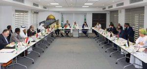 ليبيا تحضر اجتماع اللجنة الدائمة للثقافة العربية في تونس.