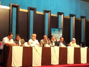 الجلسة الثانية من المؤتمر الفكري حول ثقافة العنف.