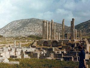 مدينة طلميئة الأثرية.