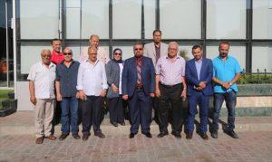 لقاء أمين الهيئة العامة للثقافة بالناشرين الليبين.