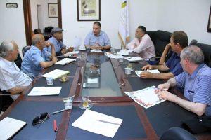 اجتماع هيئة دعم وتشجيع الصحافة بأعضاء لجنة إعداد موسوعة تاريخ الصحافة الليبية.