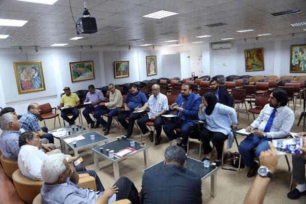 لقاء الهيئة العامة للثقافة بالناشرين الليبيين.