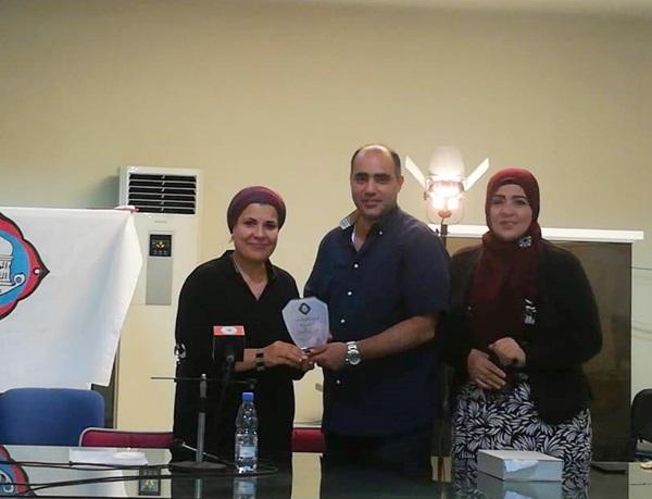 """تكريم الروائية الليبية"""" نجوى بن شتوان"""" في الرابطة الثقافية طرابلس"""