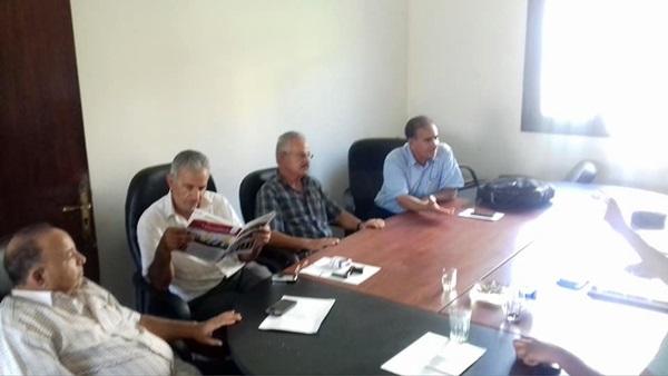 اجتماع اتحاد الناشرين الليبيين.