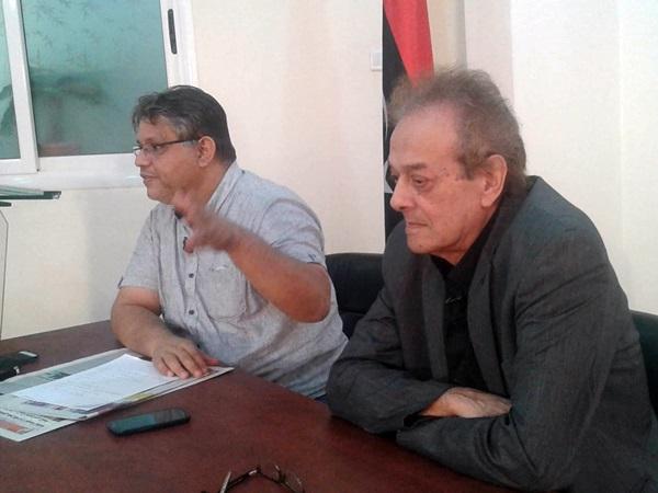 المخرج محمود الزردومي، والكاتب أحمد التهامي.