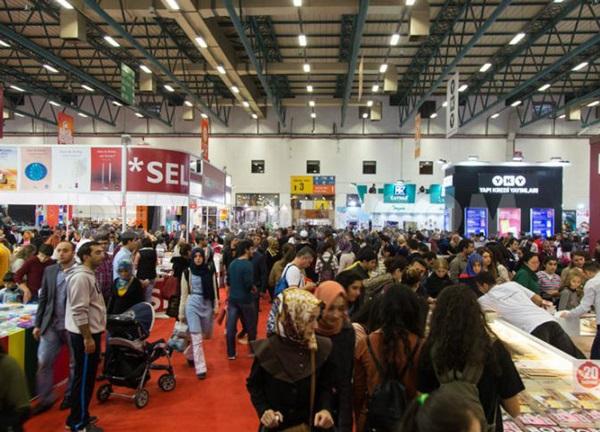 معرض الكتاب العربي في تركيا 2017.