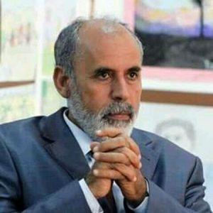 التشكيلي الليبي رمضان أبو راس.