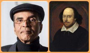 وليم شكسبير وإبراهيم الكوني.