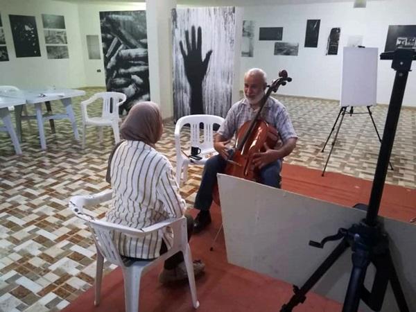 مناشط تجمع تاناروت للإبداع الليبي.