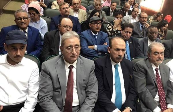 المؤتمر الاستثنائي للاتحاد العام للأدباء والكتاب العرب، بالقاهرة.