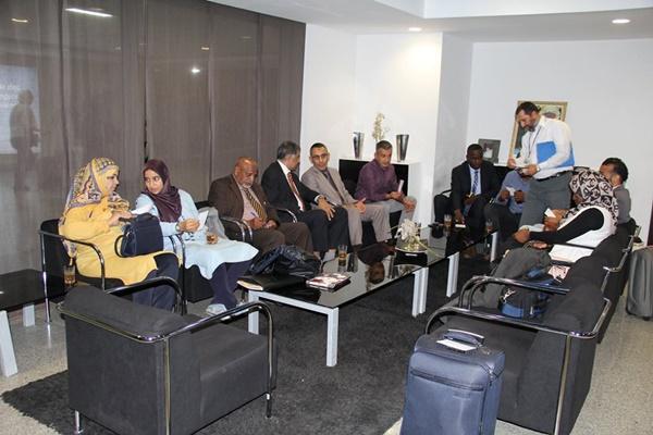 وصول وفد اللجنة الوطنية الليبية للتربية والثقافة والعلوم، المشارك في المجلس التنفيذي والمؤتمر العام للإيسيسكو.
