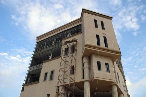 عمارة صحيفة أخبار بنغازي.