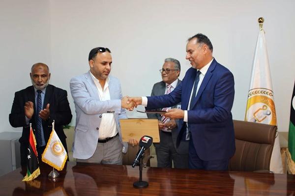 توقيع مذكرة تفاهم بين «العامة للإعلام والثقافة» و«المؤسسة الليبية للدراسات»
