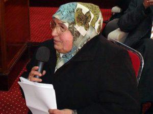 الدكتورة هنية الكاديكي.