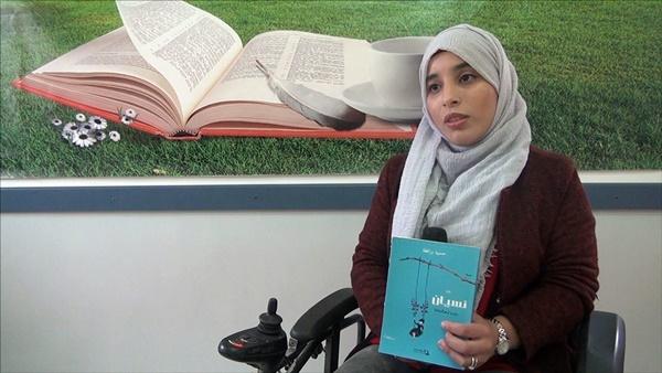 الروائية الجزائرية حسيبة برافطة (الصورة: الجزيرة نت).